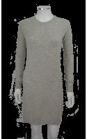 Jersey-Vestido con cuello redondo